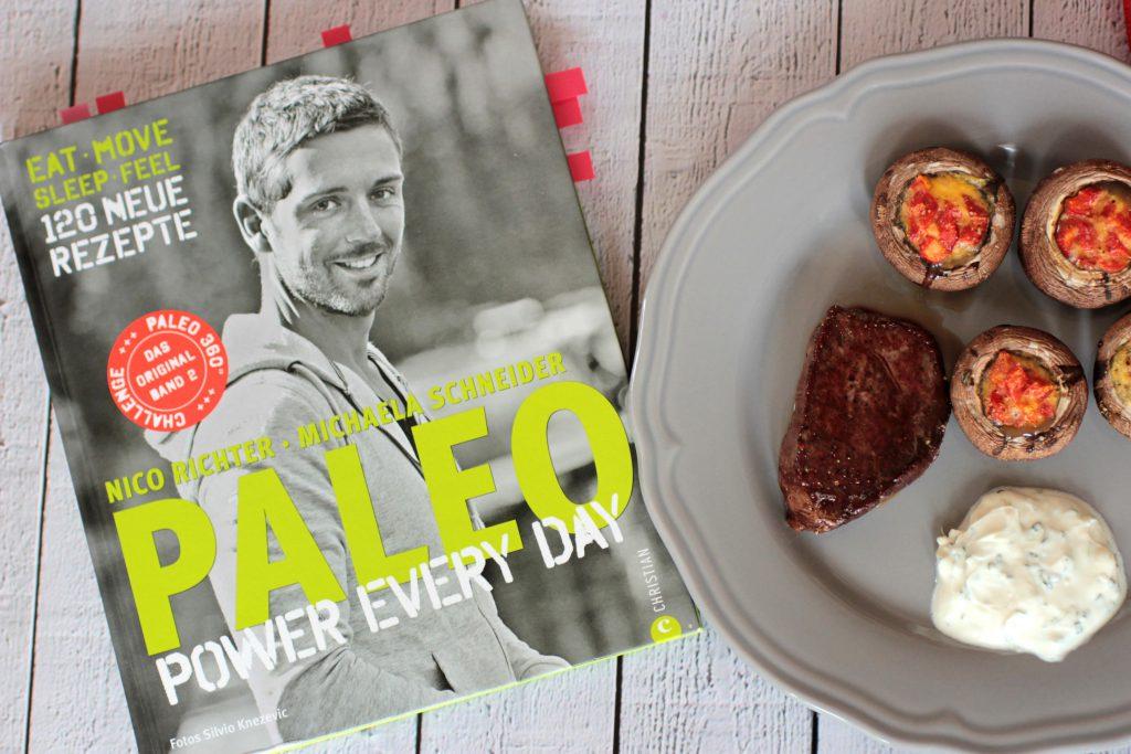 Paleo Power Every Day - Nico Richter - Buch Rezension und Rezepte