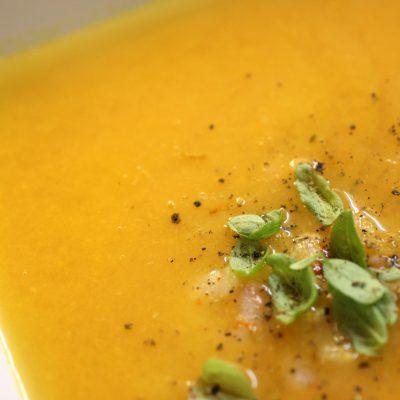 Schnell, Schneller, Süßkartoffel-Orangen-Suppe a la Steffen Henssler