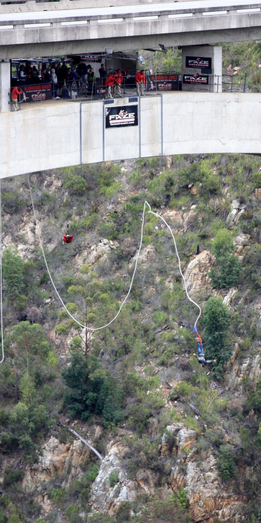 World lagest Bungee Jumping Bridge South Africa