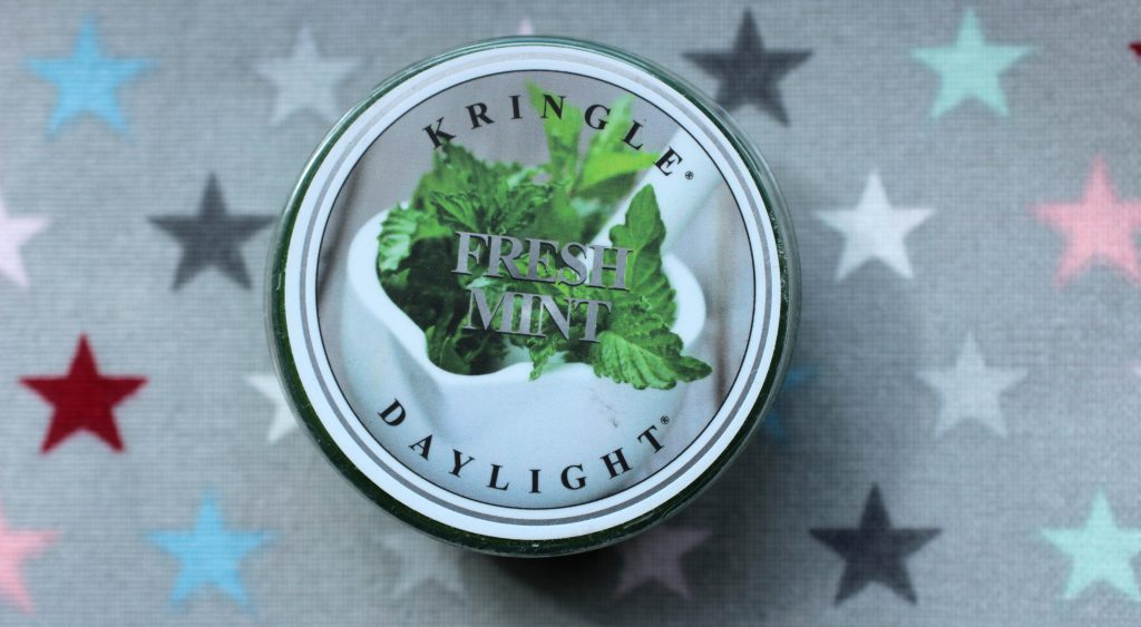 4 Kringle Candle Daylight - Fresh Mint