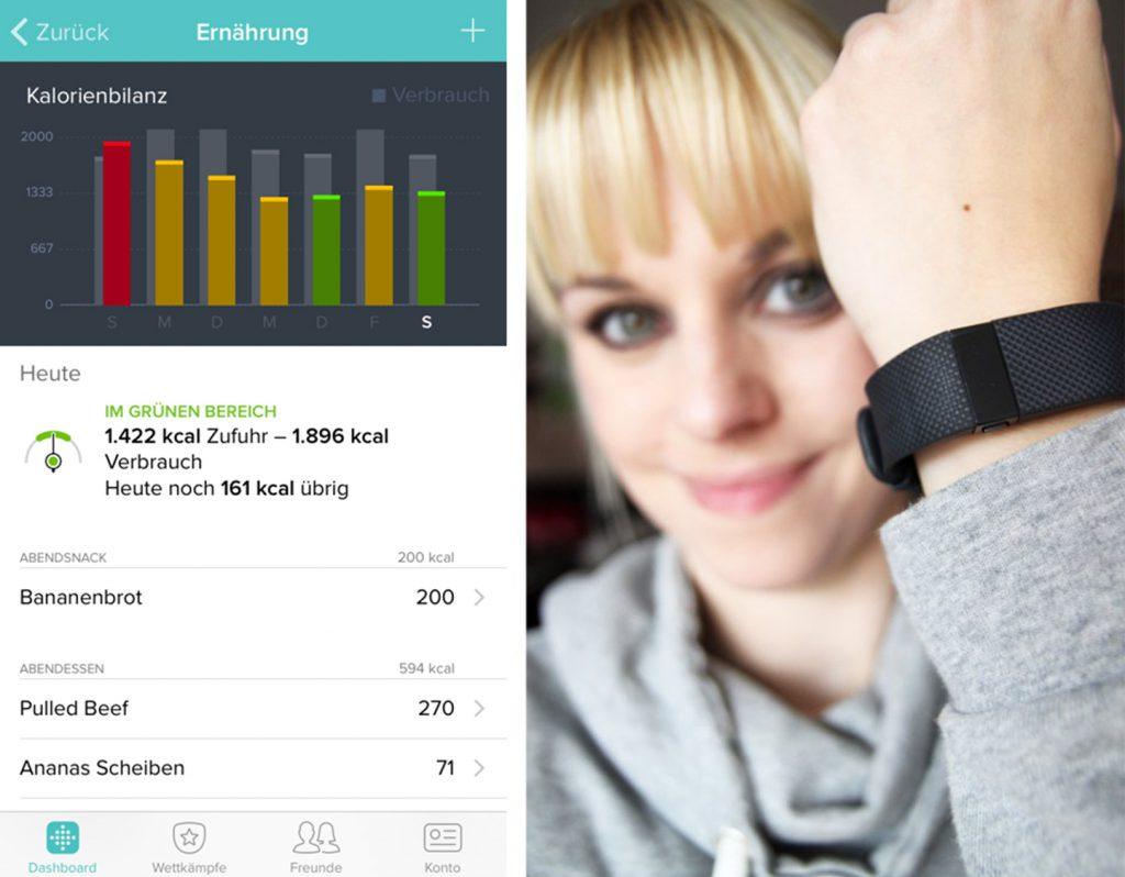 Ernährung Kalorienzaehlen Diaet Fitbit Tracken - www.beautybutterflies.de