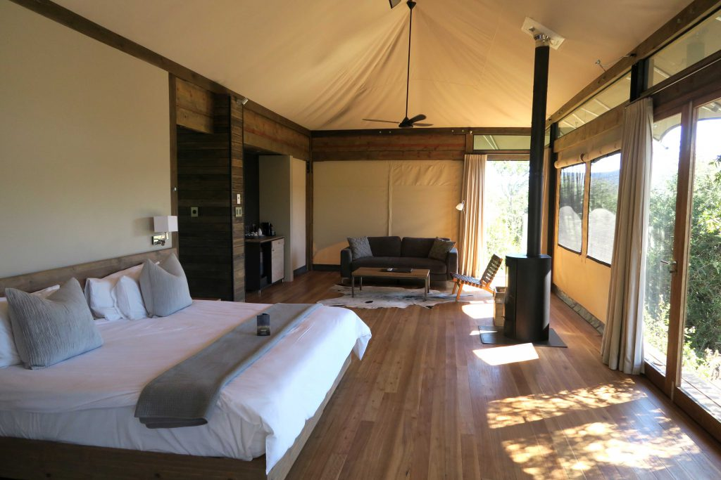 Kariega  Private Game Reserve - Settlers Drift Tented Suite - www.beautybutterflies.de