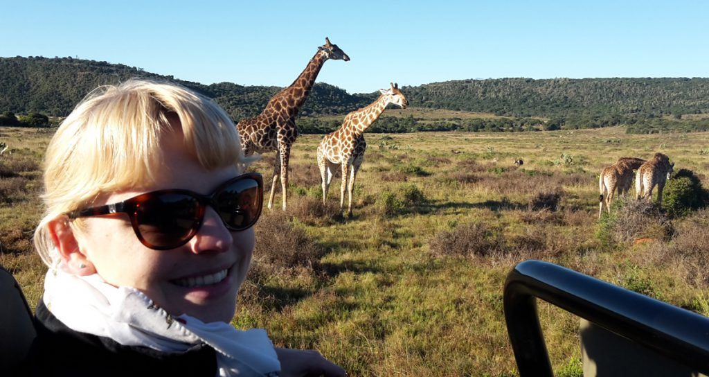 Kariega Private Game Reserve South Africa Giraffe open Jeep - www.beautybutterflies.de_7