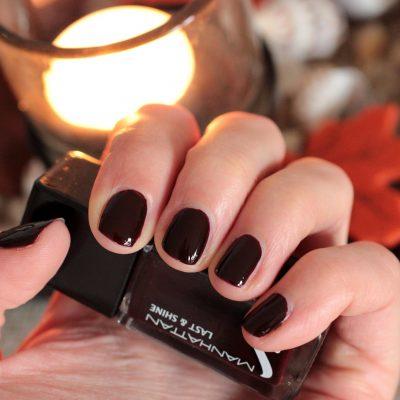 Herbst auf den Nägeln – Manhattan 560 Dark Night