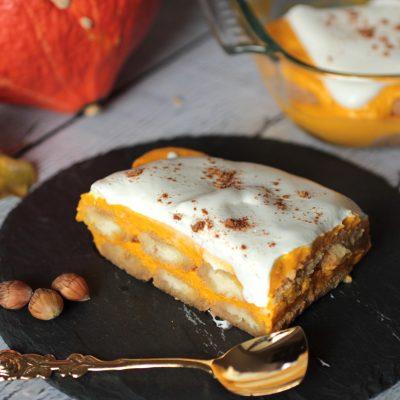 Herbstküche – Leichtes Kürbis Tiramisu