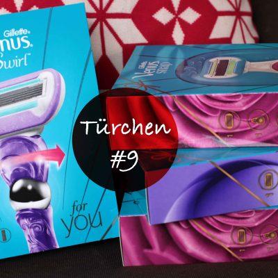 Türchen #9 –  Geschmeidige Winterhaut mit Gillette Venus