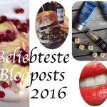 Jahresrückblick – Meine und Eure liebsten Blogposts