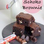 Kinderschokolade Brownies und 5 Tipps wie sie gelingen