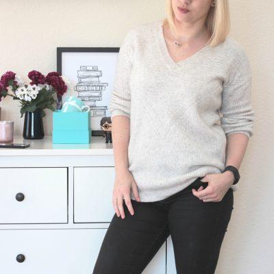 [Fashion] Geliebter Kuschelpullover – Und mal wieder spät dran…