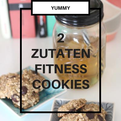 Gesunde Fitnesskekse – Nur 2 Zutaten 🍪