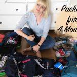 Packen für 4 Monate Urlaub – Wie packe ich? Was kommt mit?
