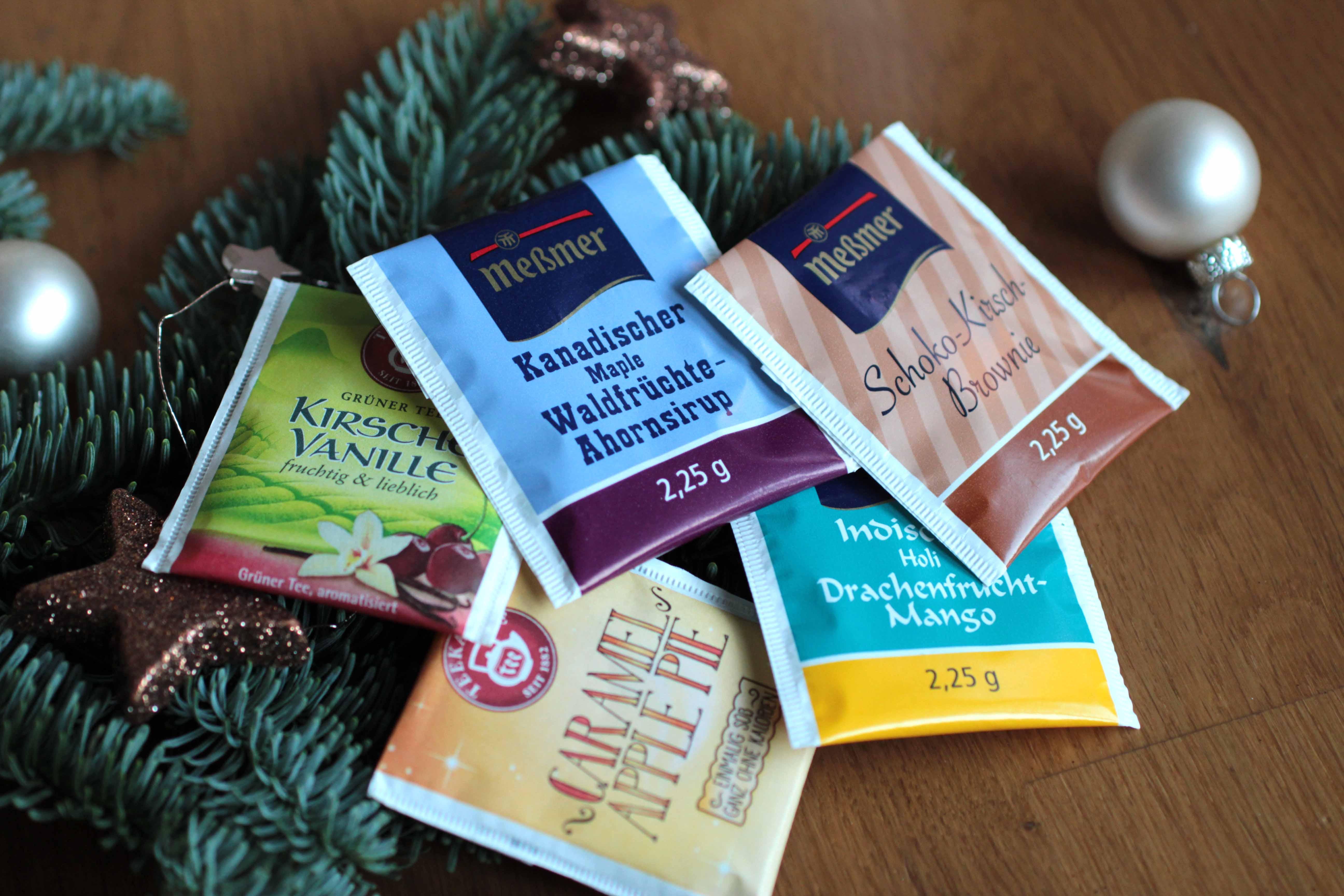 Weihnachtskalender Inhalt Ideen.Adventskalender Inhalt Ideen Guenstig Billig Tee