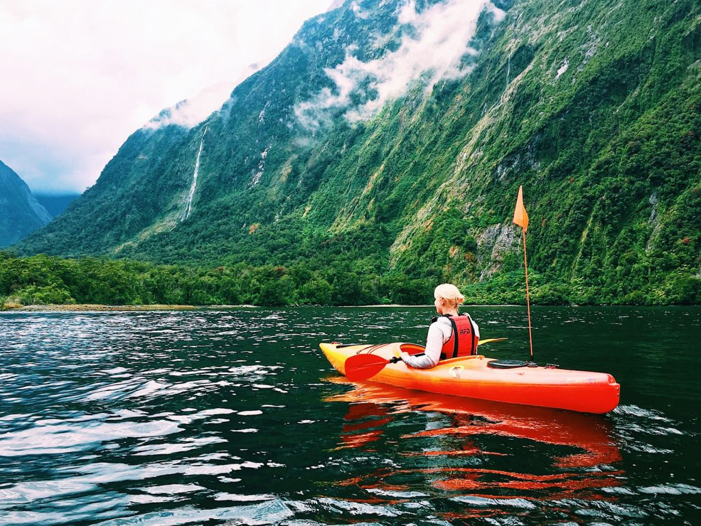 Moschee Neuseeland Video Pinterest: Kayak In Neuseeland