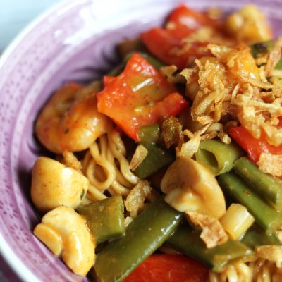 Basic Cooking – Mie-Nudel-Pfanne