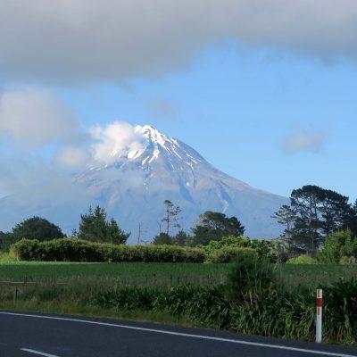 [Neuseeland] Wie mich der Vulkan Mount Taranaki warten lies…