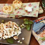 Schnelle & Frische Zitronenpasta mit White Tiger Garnelen von Escal Seafood