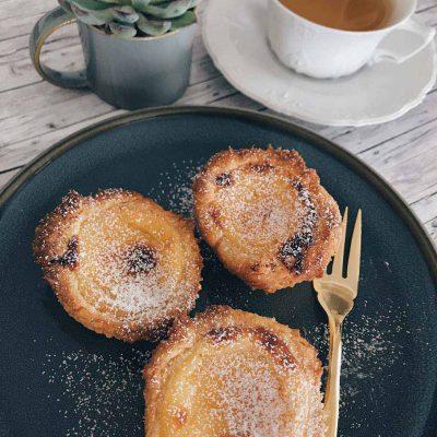 [Rezept] Pastel de Nata – Portugiesische Puddingtörtchen